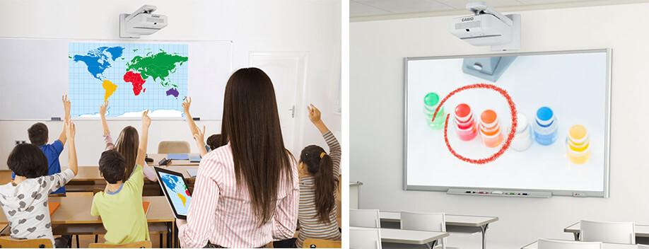 Casio LED Beamer für die Schule