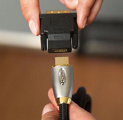 Mac con DVI-Conexión