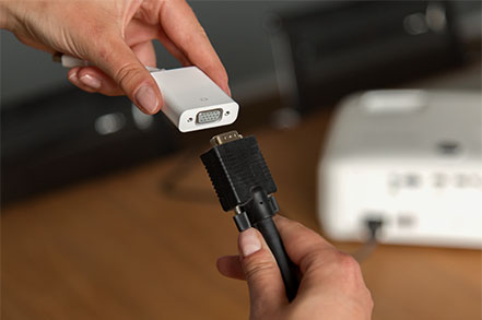 adaptador Mini-DisplayPort a VGA