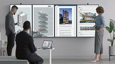 Microsoft Surface Hub2 - Especialmente diseñado para equipos