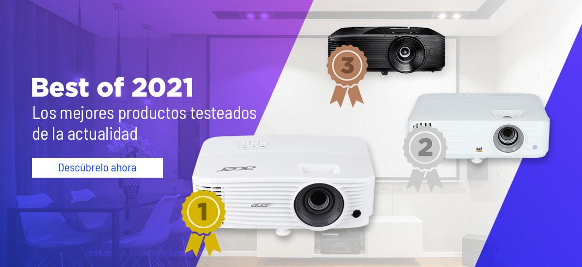 Best of 2021 proyectores